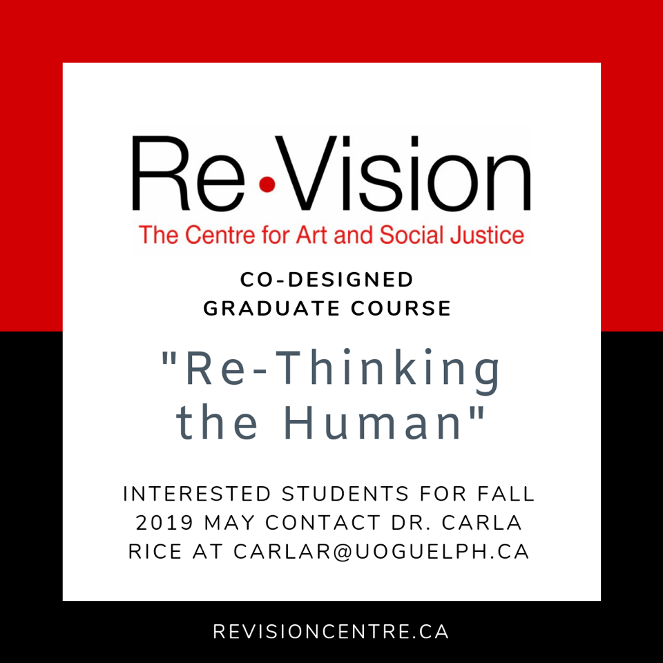 Re-Thinking the Human course flyer