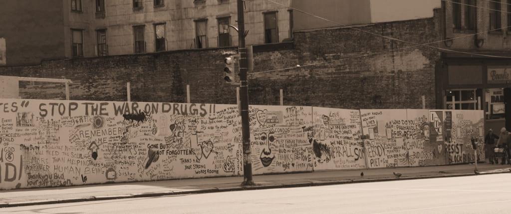 Bud Osborne Wall Vancouver