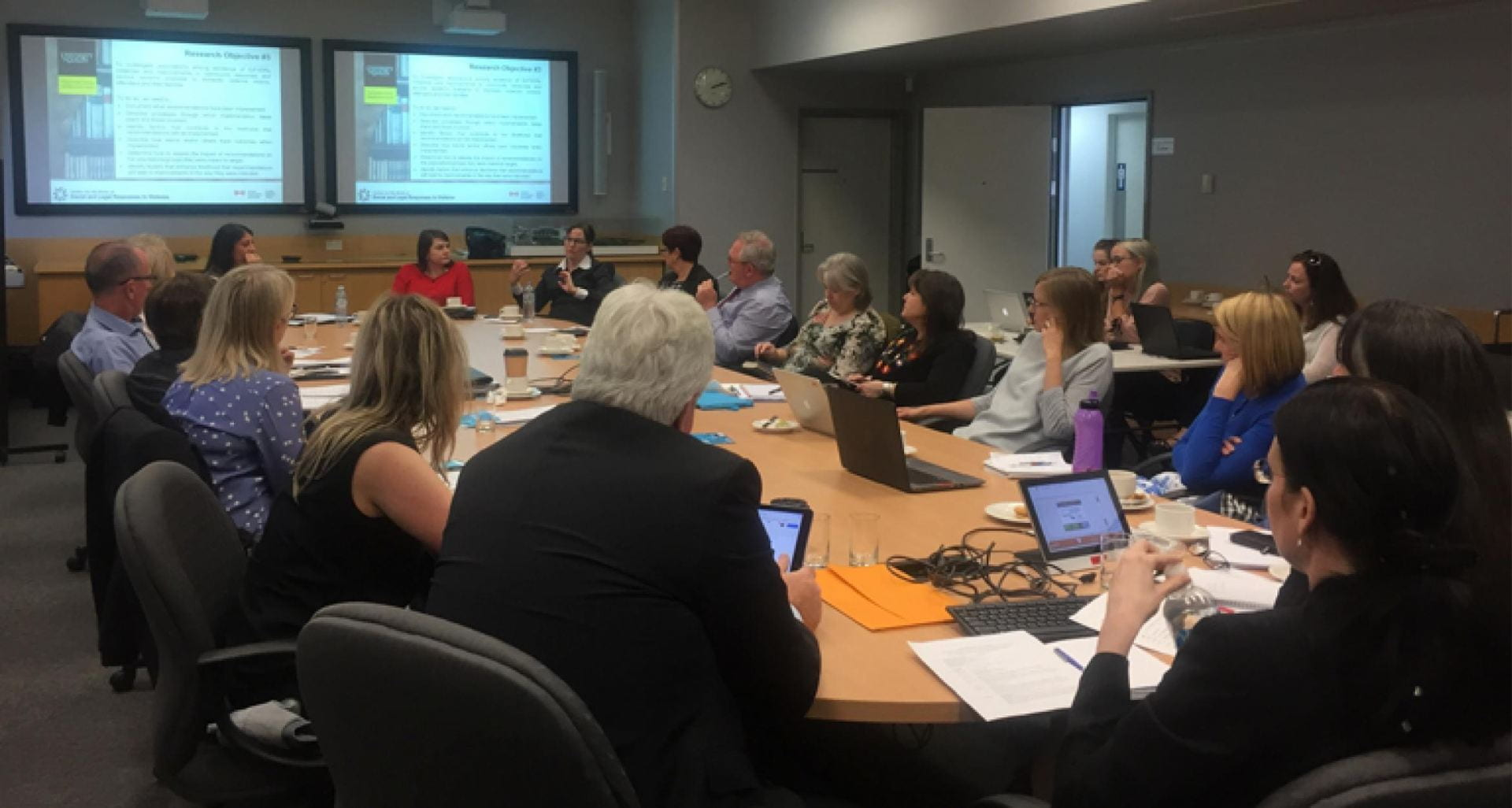 Guelph-Griffith Roundtable on Domestic Violence Death Reviews in Queensland.