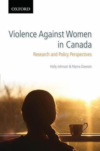 Violence Against Women in Canada, Research and Policy Perspectives Book Cover.