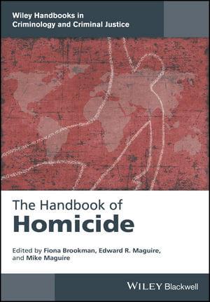 The Handbook of Homicide Book Cover.